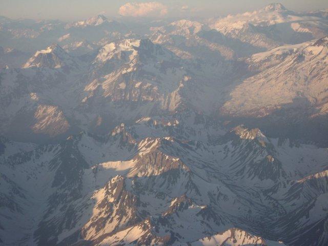 117.Cordilheira dos Andes vista do avião